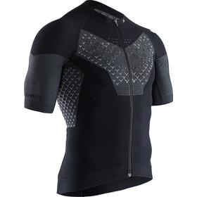 X-Bionic Twyce G2 Bike Zip Shirt SS Herren black melange